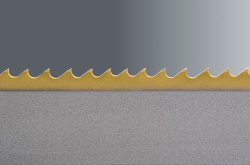 nanoflex gold, beschichtetes bimetall sägeband