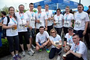 Teilnahme am M-net Firmenlauf 2015