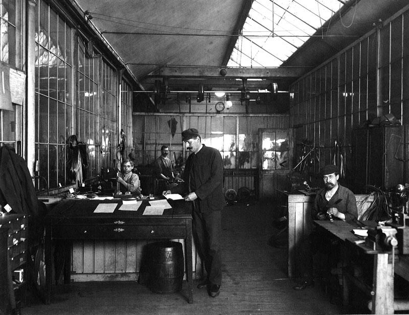 Eberle Geschichte Werkstatt