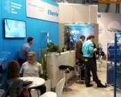 EBERLE booth at the AMB in Stuttgart