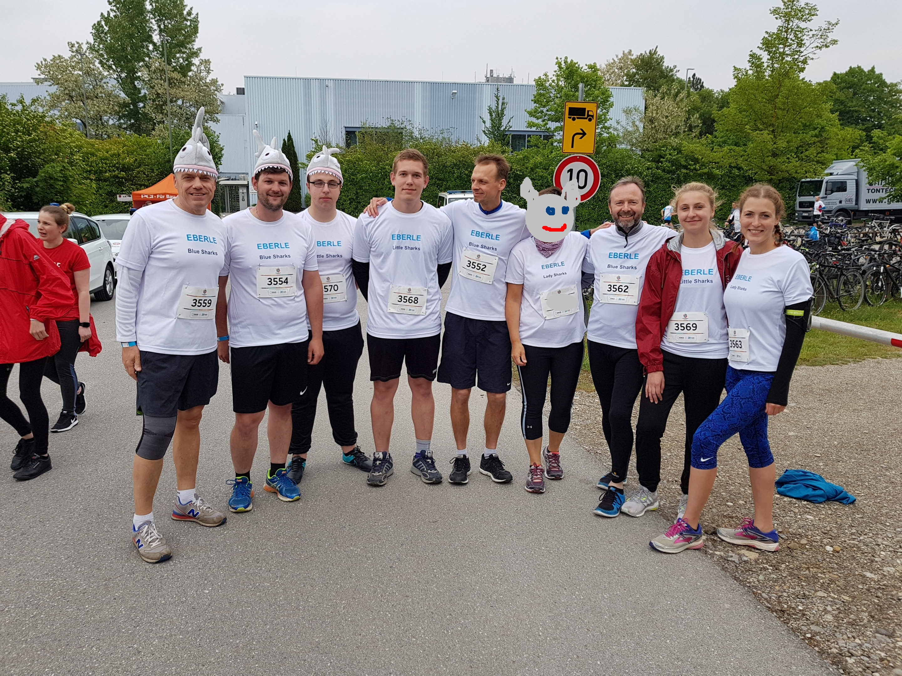 M-Net Company Run with Eberle Sharks 2018