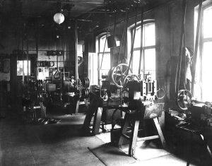 Eberle Geschichte Poliermaschinen
